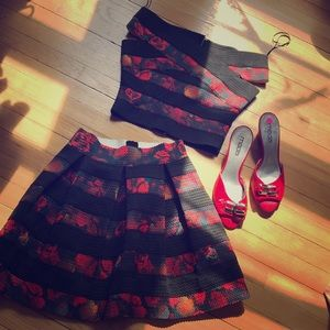 Guess Bandage Top With Matching Skirt Gorgeous!🔥